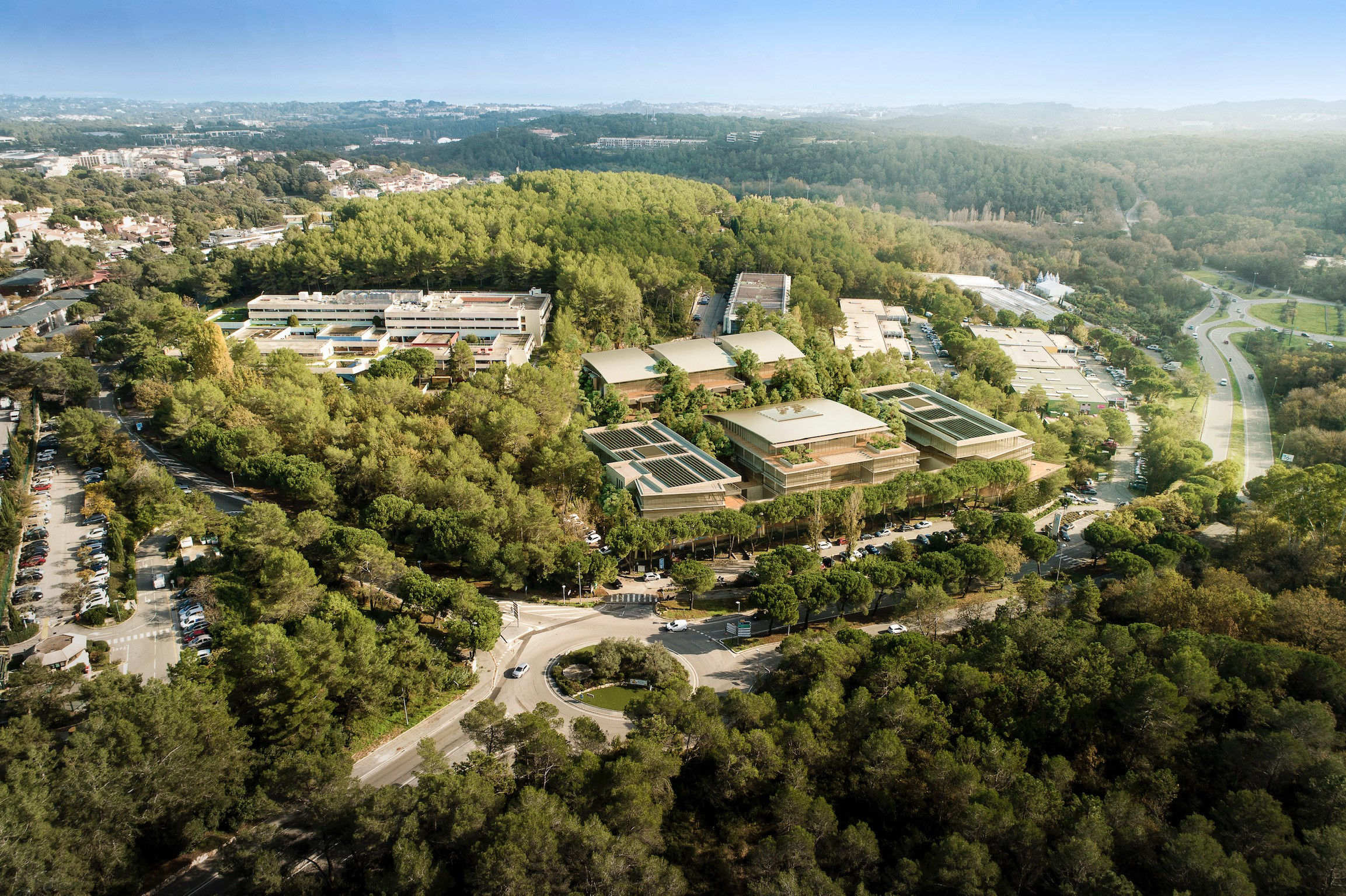 sophia antipolis centrium Courtin real estate